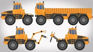 Transformer | Loading Truck | Welding Truck | Crane | Vehicle For Kids