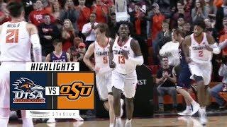 UTSA vs. Oklahoma State Basketball Highlights (2018-19) | Stadium