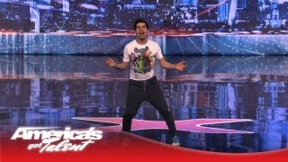 Enrique Reyes - Getting Howard Stern to Dance the Samba - America's Got Talent 2013