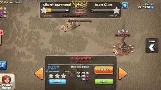Clash of Clans -Going Sparta against Iran Clan
