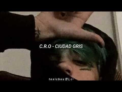 C.R.O CIUDAD GRIS LETRA