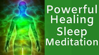 HEAL While You SLEEP ★ Powerful Healing Meditation ★ Cell Repair And Pain Relief