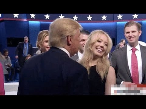 Trump's Daughter Dodges Kiss (VIDEO)