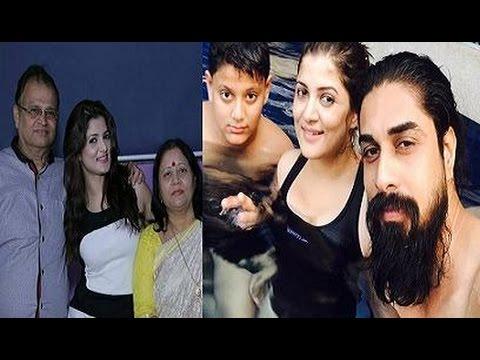 Srabanti Chatterjee Family Album | Actress Srabanti Chatterjee with her Family