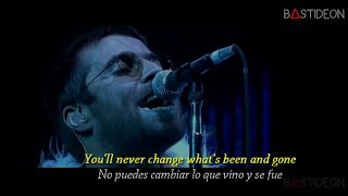 Oasis - Stop Crying Your Heart Out (Sub Español + Lyrics)