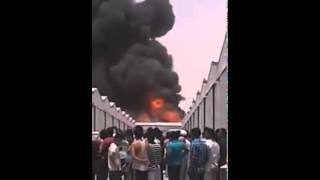 Qatar ,sanaeya no :17 ,fire ,today