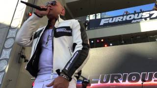Vin Diesel Introduce Wiz khalifa see you again Charlie Puth Fast Furious 7 Concert Live