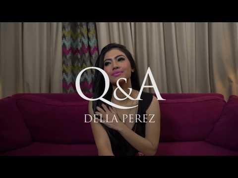 Xxx Mp4 Satu Menit Lebih Intim Dengan Della Perez Cover Popular Magazine August 2018 3gp Sex