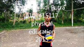 Tutorial Smash in volleyball - Hendra Adi Putra PJKR UNNES 2015