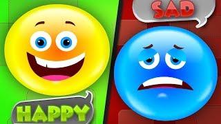 emotions song | nursery rhymes | original song | kids songs | baby videos