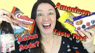 American Taste Test Bacon Soda Yoohoo Chocolate and more