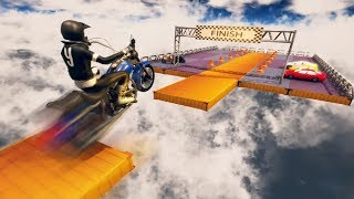IMPOSSIBLE STUNTS BIKE RACING GAMES #Dirt Motor Cycle Racer Game #Bike Games To Play #Games Download