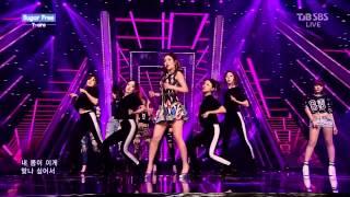T-ara - Sugar Free 141012 SBS Inkigayo