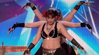 Britain's Got Talent 2016 S10E01 Shani Belly Dancers It's Not What You Think or Want Full Audition