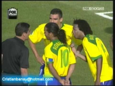 Brasil 3 Alemania 2 Copa Confederaciones 2005 Resumen Completo
