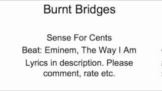 Sense For Cents--Burnt Bridges