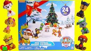 24 Paw Patrol Nick Jr  Advent Calendar Surprises