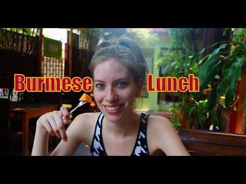 Xxx Mp4 Burmese Food Burmese Set Lunch At The Mandalay Inn Amp Restaurant In Siem Reap Cambodia 3gp Sex
