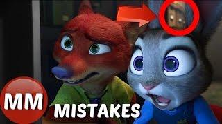 Disney Zootopia MOVIE MISTAKES You Didn