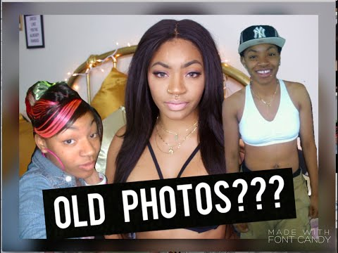Reacting to My Old Photos | Teenager Edition