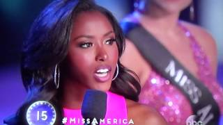 Ms. South Carolina DESTROYS anti-gun judge's question with logic & reality at Ms. America Pageant