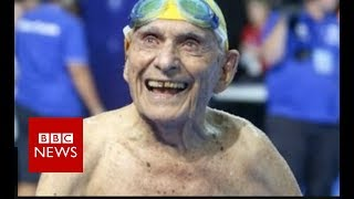 Australian swimmer: 99-year-old