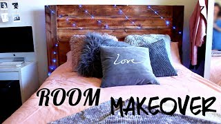 EXTREME DIY BEDROOM MAKEOVER (ON A BUDGET) - Maddie Ryles