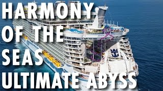 Harmony of the Seas Preview ~ Behind-the-Scenes: Ultimate Abyss ~ Royal Caribbean International