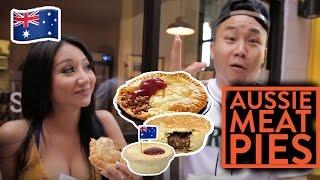 FUNG BROS FOOD: Australian Food - Aussie Meat Pies!