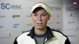 My Performance | Caroline Wozniacki defeats Elina Svitolina | 2017 WTA Finals Singapore