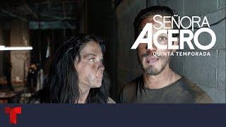 Señora Acero 5 | La tortura y enfrentamiento con El Teca y el rescate en la cueva | Telemundo