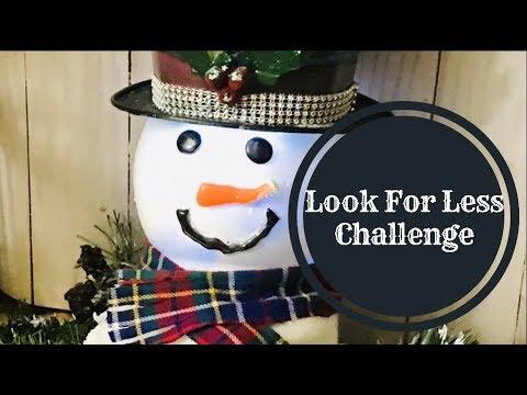 Xxx Mp4 Lookforlesschallenge Christmassnowman LOOK FOR LESS CHALLENGE 3gp Sex