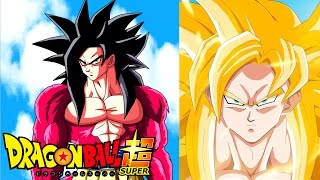 ¿VEREMOS LA TRANSFORMACION DEL SUPER SAIYAJIN 4 EN DRAGON BALL SUPER?