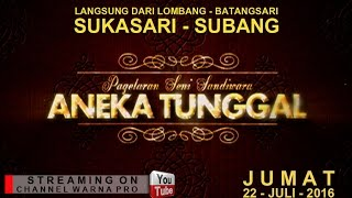 SIARAN LANGSUNG ANEKA TUNGGAL PART 2 EDISI 22-07-2016