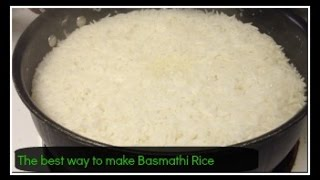 The Best Way To Make Basmati Rice! | Vinita