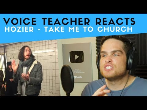 Vocal Analysis of Hozier Take Me To Church Voice Teacher Reacts