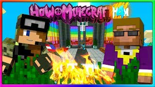 Minecraft - SIDE HAS A GOOD IDEA!   Episode 105 of H4M (How to Minecraft Season 4)