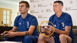 Famous Footballer Playing FIFA ft. Ronaldo, Messi, Pogba  HD
