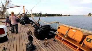 Tour a bordo della nave Amerigo Vespucci