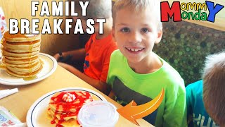 Giant Family Breakfast Gathering || Mommy Monday
