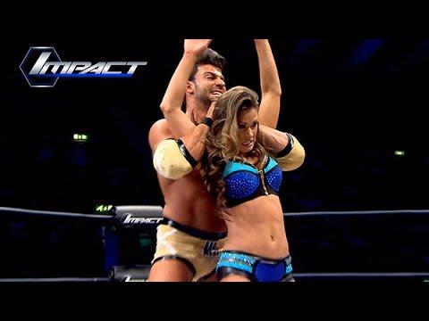 Brooke vs Robbie E in an Intergender Match