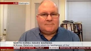 David Maxwell on North Korea sanctions with BBC