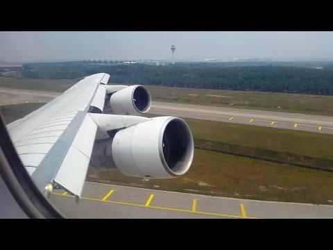 Iran Air B747 SP Takeoff from Kuala Lumpur 9 April 2016