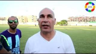 إبراهيم حسن يوجه كلمة لجمهور المصري البورسعيدي ويتحدث عن رحيل كابوريا