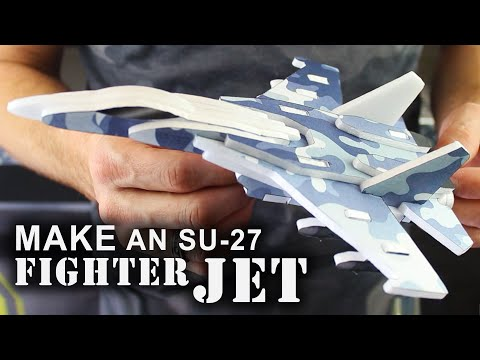 watch How To Make 3D Foam Fighter Jets