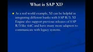What is SAP XI ?