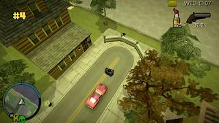 GTA Chinatown Wars - 100 kamer / 100 security cameras (PSP)