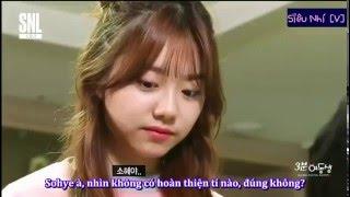 [Vietsub] I.O.I @ SNL Korea - 3Minute Sisters (2/3)