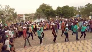 MLA Song Flash mob at NTR Gardens