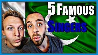 5 Famous Pakistani Singers by Robin and Jesper
